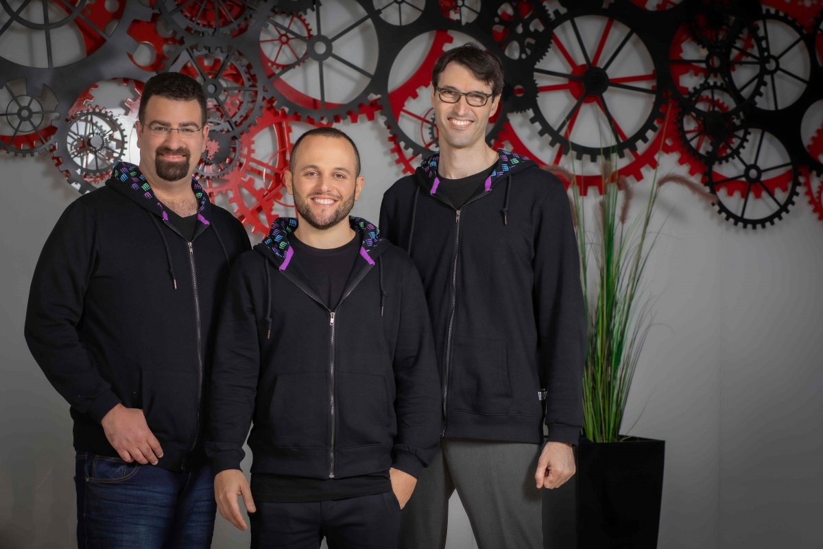 Rewire founders(right to left) Saar Yahalom, Guy Kashtan and Adi Ben Dayan