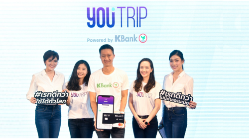 YouTrip in partnership with KBank to launch no fee digital wallet