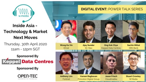 W.Media (Singapore), in collaboration with OPEN-TEC in launching Power Talk Series