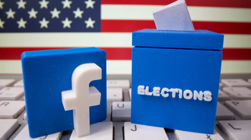 Facebook to cease running US political ads after 2020 Election Polls close