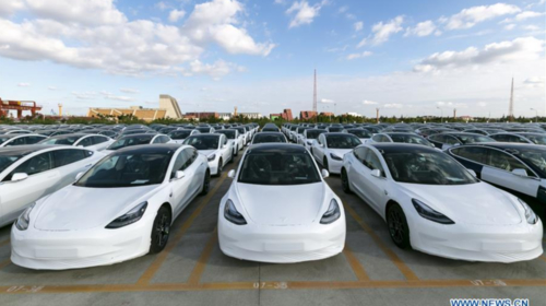Made-in-China Tesla to be exported to Europe