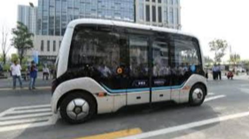 University of Macao launches autonomous driving bus