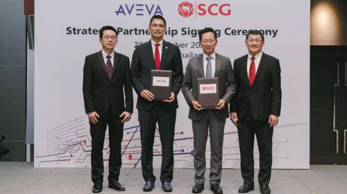 AVEVA and SCG announce strategic partnership to deliver  'Digital Reliability Platform'