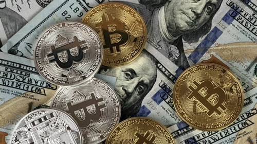 Bitcoin spikes to highest value since 2018 bubble amid slagging stock market