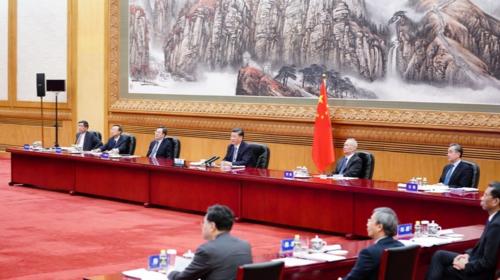 Xi proposes pandemic
