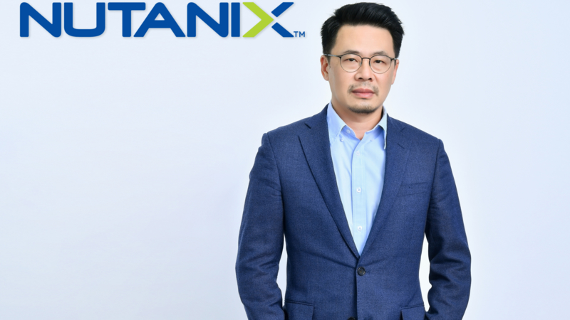 Mr Thawipong Anothai, Thailand Country Manager of Nutanix