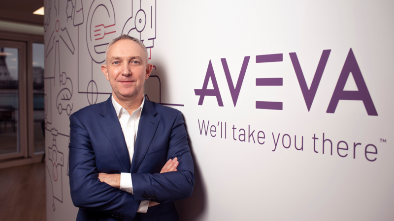 Craig Hayman, CEO of AVEVA
