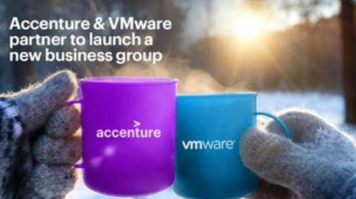 Accenture launches new business group with VMware to help organizations move to the cloud faster