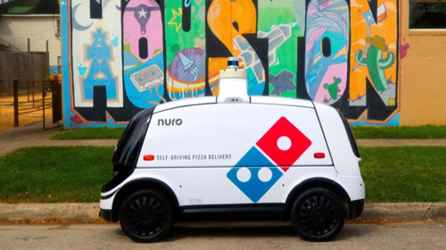 Domino's Pizza testing driverless autonomous car for deliveries in Houston