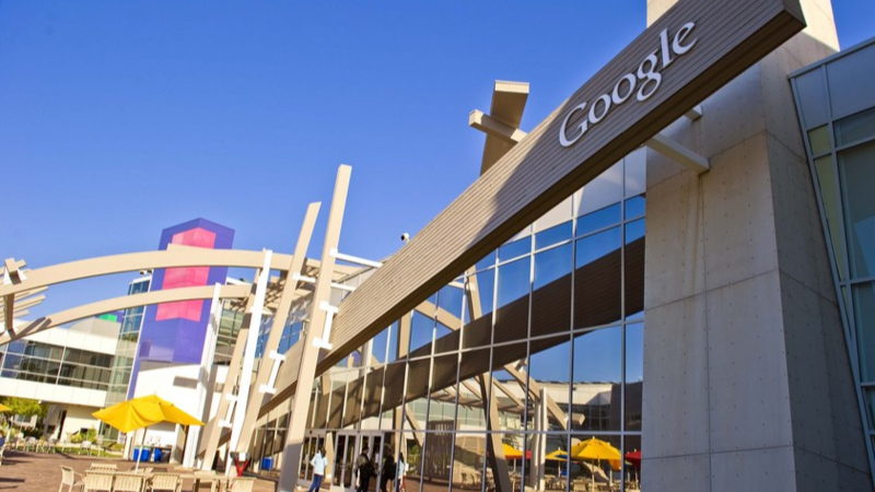 File Photo shows Google's headquarters in Mountain View, California, the United States. (Xinhua/Chen Gang)