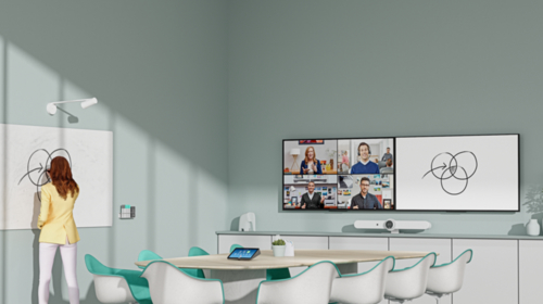 Logitech introduces a collaborative whiteboard solution for hybrid offices and classrooms