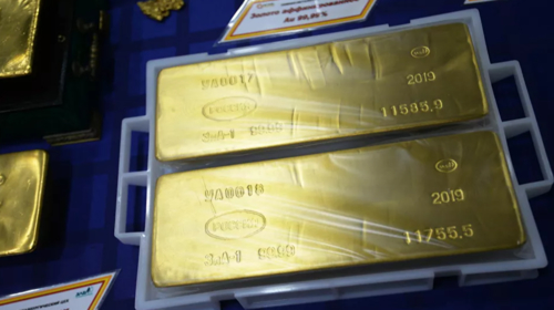 Russia's gold mining giant plans to boost precious metal's output amid soaring prices