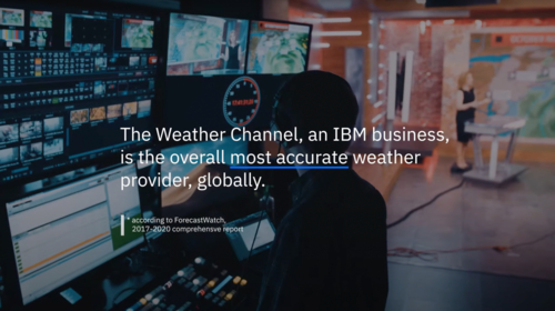 IBM's The Weather Company continues to  be the world's most accurate forecaster overall