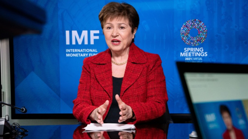IMF chief says global economic growth to