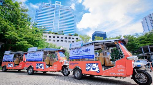 """""""Banpu NEXT"""" launches """"MuvMi ASA KHONSONG"""", Transport Service Project"""
